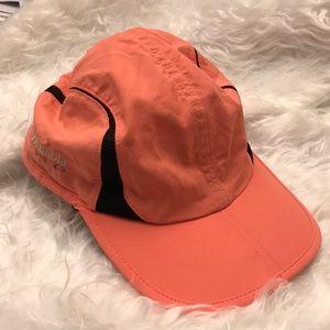 Coral Columbia Omni Shade Hat